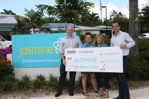 Campbells Donates to Charity Jasmine